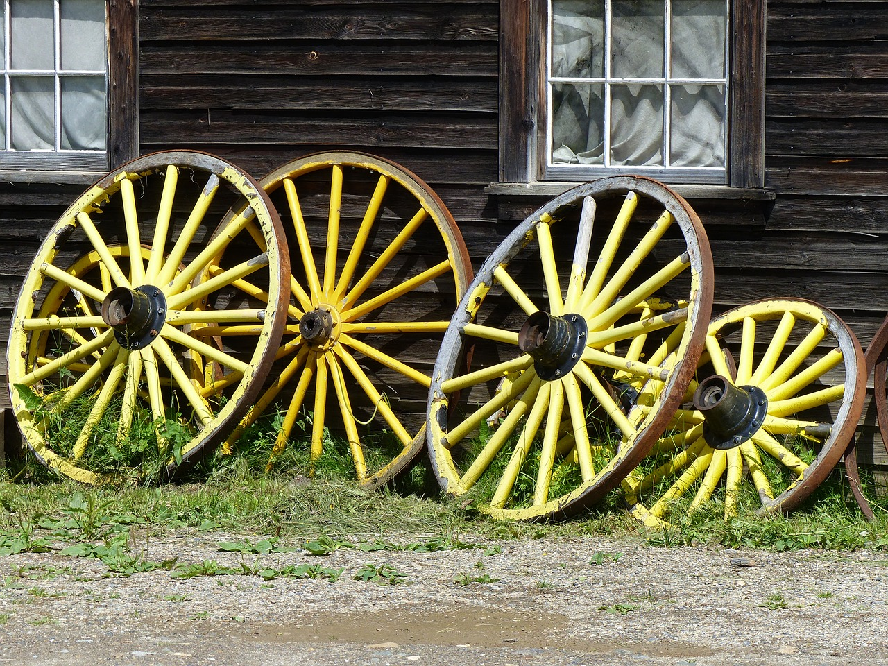 Wagon Wheel in Armstrong BC